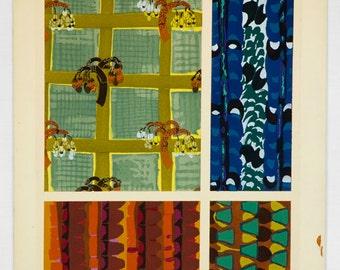 Variations par Benedictus Plate 19 Art Deco Original Fine Art Pochoir print 1924