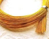 Mizuhiki Japanese Decorative Paper Cords Gold