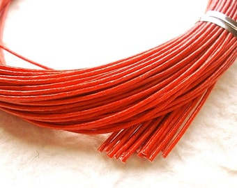 Mizuhiki Japanese Decorative Paper Strings Cords Red