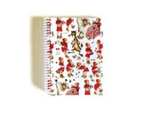 Notebook Spiral Bound: Little Red Ridding Hood (4 x 6)