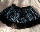 HALLOWEEN EGL Gothic Lolita Skirt Bats PLUS