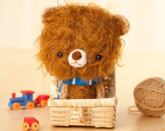 Teddy bear toy, stuffed animal, bear plushie  - made to order - ilun -