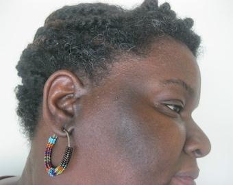 Made to order -  Large Hoop Earrings