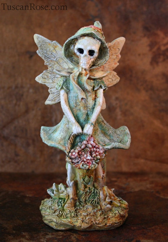 ON SALE - Mourning Glory and Nightshade - Calavera - Edgewood Forest Day of the Dead