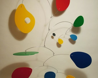 Art Mobile Jujumo XL Modern Hanging Sculpture by Julie Frith