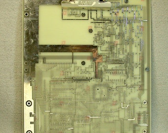 GEEKERY CLIPBOARD Recycled Circuit Board Techie Silvery MC21
