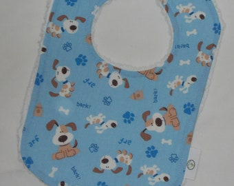 Blue Puppies Boutique Bib