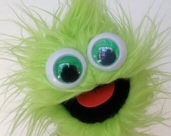 mini gumball monster - green apple