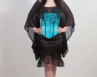 SALE Brocade Obi Belt Tie Corset, any size.