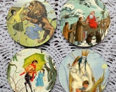 The Lion, the Witch and the Wardrobe -- Mousepad Coaster Set