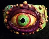 RESERVED  Alien EYE  ZombieHead Bracelet