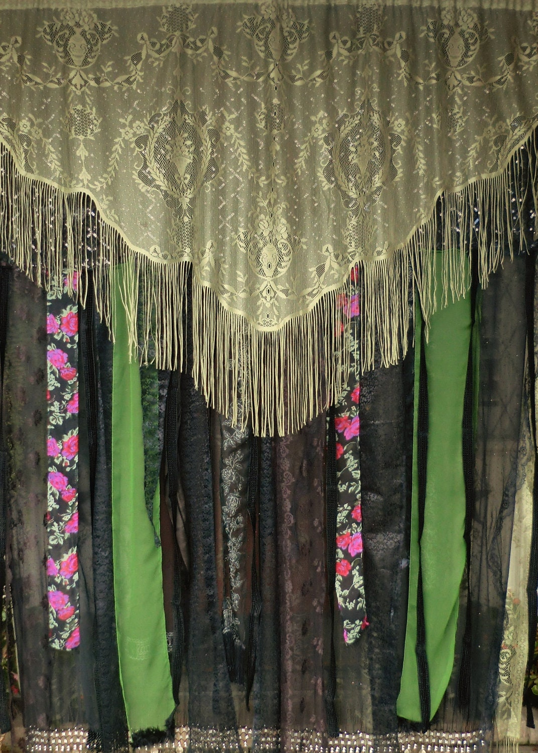 Pale Green Curtains
