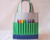 Coloring Bag Crayon Tote Crayon Tote ARTOTE Mini in SnowPark