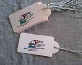 Snoopy & Woodstock Gift Tags - Set of 12