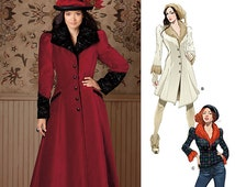 Sewing Pattern-Simplicity 1732-Steampunk Victorian Type Coat Size 6-14