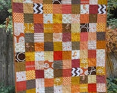 the horse quilt - for baby girl