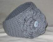 Crochet Headband and Earwarmer