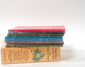 Beatrix Potter Collection - 8 Small Children's Books in Box - 1972 Vintage Book