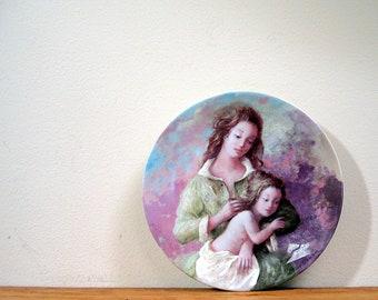 Limoges Porcelain Plate Michele Et Sylvie