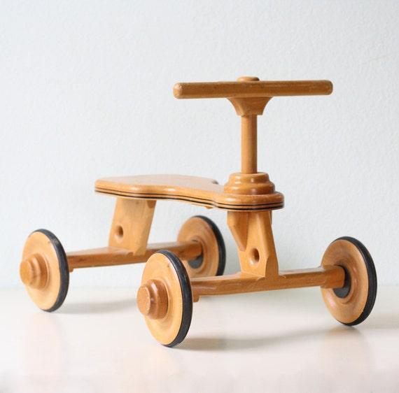 Retro Ride On Toy
