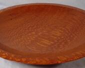 Brazilian Leopardwood Platter Exotic Wood Bowl number 4691