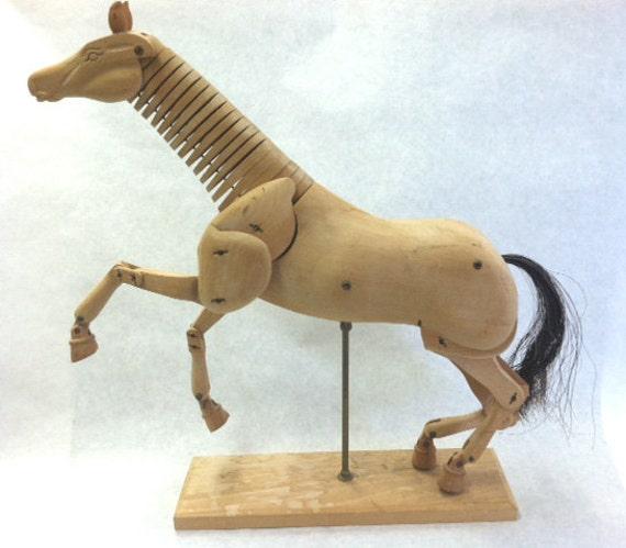 Horse Models For Artists Horse Artist's Wooden