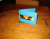 Duct tape wallet from space with gaffer tape and aliens