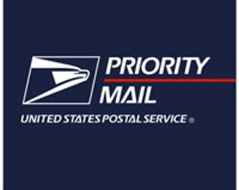 For U.S. Only Priority - Upgrade for Holidays Via USPS 2-3 Day Delivery only -- Does Not Include Overnight