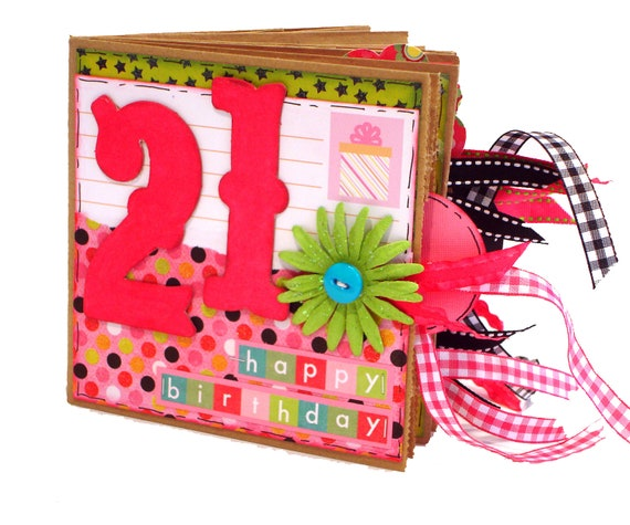 how to make a birthday scrapbook album