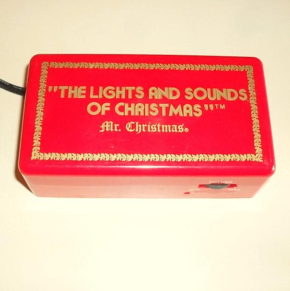 Vintage Mr  Christmas Lights And Sounds