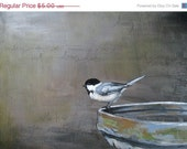 ON SALE Chickadee Greeting Card