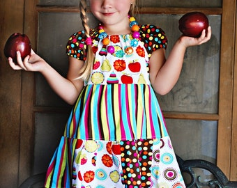 Apple Harvest peasant dress