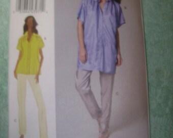 Vogue Misses Shirt/Pants Sz 8-14     V8736   Uncut