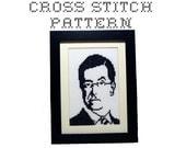 DIY Stephen Colbert - .pdf Original Cross Stitch Pattern - Instant Download