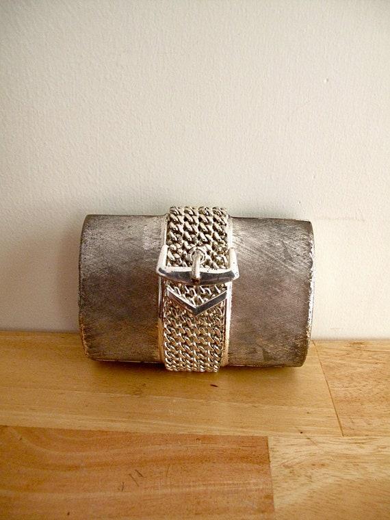 Vintage Rodo Italian Silver Clutch
