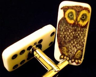 Wise Owl Cuff Links SALE