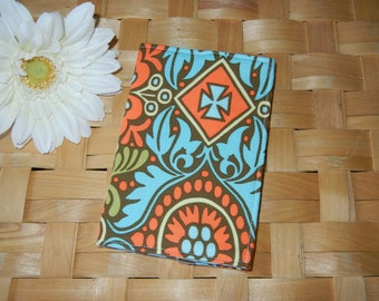CLEARANCE Fabric Passport Cover in Amy Butler Kashmir RTS