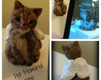 Pet Memorial Figurine LARGE size