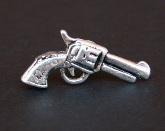 Tie Tack - Lapel Pin - Gun