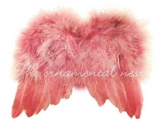 Soft Baby Pink Angel Wings Feather Tree Easter Christmas Tree