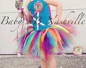 Candyland Costume Tutu  L...