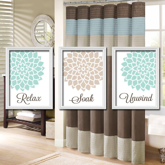 Https Www Etsy Com Listing 117436617 Shower Curtain Bathroom Wall Art Canvas