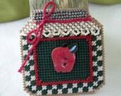 Mill Hill Bead Apple Jar Brooch