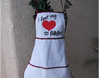 FULL APRON - COTTON Broadcloth --Any Size -  Free Shipping