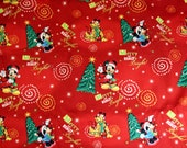 DISNEY Mickey Merry and Bright CHRISTMAS Dress CUSTOM Sz