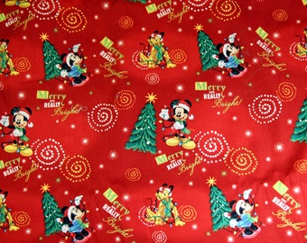 DISNEY Mickey Merry and Bright CHRISTMAS Sun Jumper Custom Size