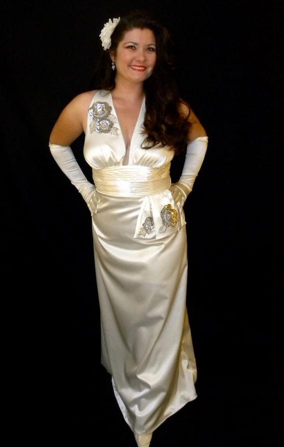 40's Starlet Sexy Noir Femme Fatale Slinky Lounge Singer ...