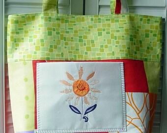 Fun Flower Tote Bag