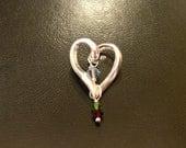 Custom Order: Heart of the Family Pendant (RESERVED FOR ANGIE)