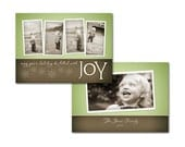 2012 Holiday Card Template - Card 4